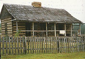 David McKenzie Log Cabin - Image: David Mc Kenzie cabin