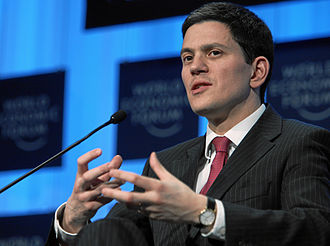 David Miliband - Miliband during the WEF 2010