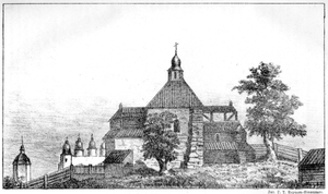 Church of the Tithes - The 17th century Church of the Tithes.