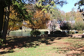 DeSoto Lake - DeSoto Lake on the Darlington School campus