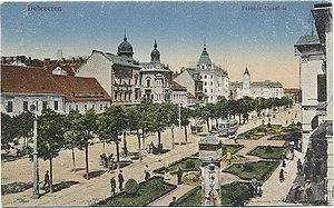 Debrecen Piac utca old