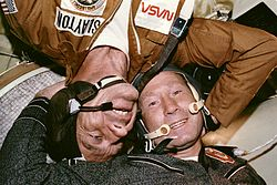 Deke Slayton and Aleksey Leonov.jpg