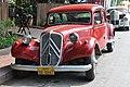 Delightful vintage Citroen car in LP! (14418976637).jpg
