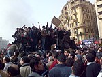 Demonstrators on Army Truck in Tahrir Square, Cairo.jpg