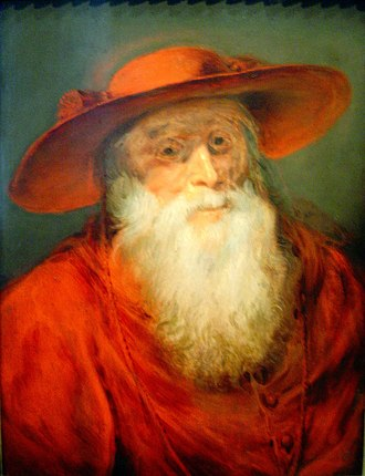 Galero - A cardinal's hat worn by St Jerome as depicted circa 1625 by Rubens
