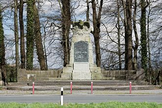 Battle of Villinghausen - Monument to the battle