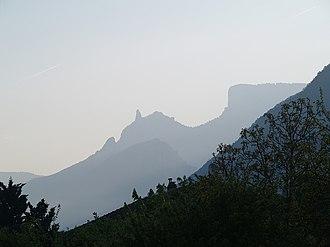 Vercors Regional Natural Park - Image: Dent de Die