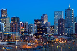 Denver capital city of the state of Colorado, United States; consolidated city and county