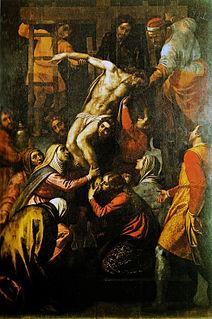 Domenico Passignano painter from Italy (1559-1638)