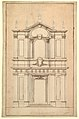 Design for the Façade of Santi Faustino e Giovita, Rome MET DP820303.jpg