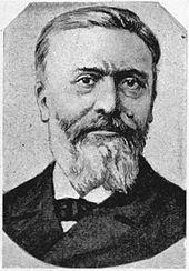 Foto em preto e branco do pastor Frédéric Desmons