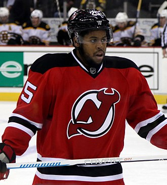 Devante Smith-Pelly - Smith-Pelly with the Devils
