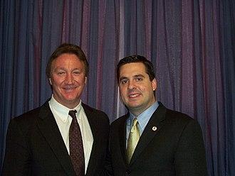 Alan Autry - Autry with Congressman Devin Nunes in 2003