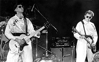 Post-punk - Devo performing in 1978.