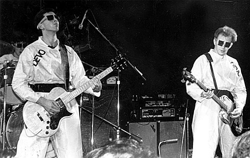 Live performance in Atlanta, Georgia, 1978: Bob Casale and Gerald Casale Devo, Atlanta, Ga., Dec. 27, 1978 Agora Ballroom.jpg