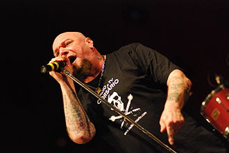 Killers (Iron Maiden album) - Killers was the second and final Iron Maiden album with vocalist Paul Di'Anno (shown here in 2008)