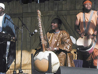 Toumani Diabaté - Toumani Diabate performing at the 2007 Winnipeg Folk Festival