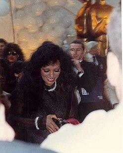Diana Ross bei den Academy Awards, 1990