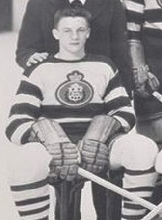 Dickie Moore (ice hockey) - Moore pictured c. 1948 with the Montreal Jr. Royals