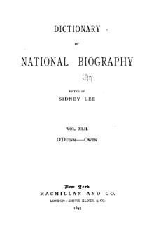 Dictionary of National Biography volume 42.djvu