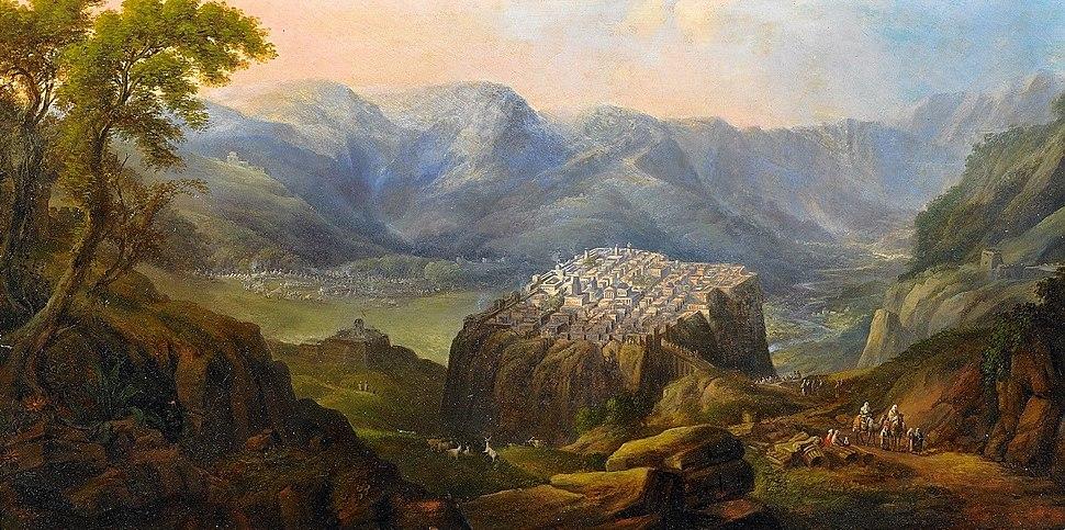 Die Belagerung Masadas 19Jh