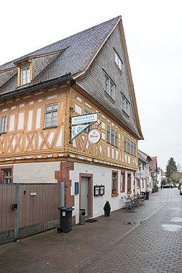 Badgasse in Dieburg