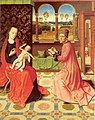 Dieric Bouts - Saint Luke painting the Virgin.jpg