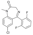 Difludiazepam structure.png