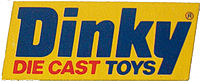 Dinky logo used in the late 1970s