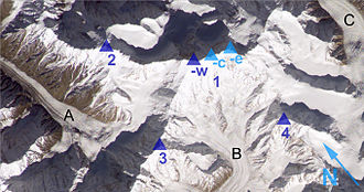 Distaghil Sar - Distaghil Sar seen from ISS