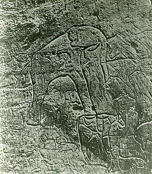 Rock art of the Djelfa region - Oued el Hesbaïa.
