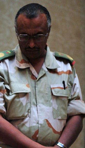 Djibouti Armed Forces - A Djibouti Armed Forces commander.