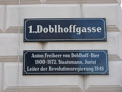 How to get to Doblhoffgasse with public transit - About the place