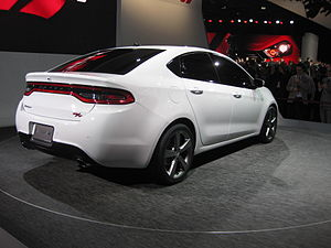 Dodge Dart (PF) - Rear/side view of the Dart R/T