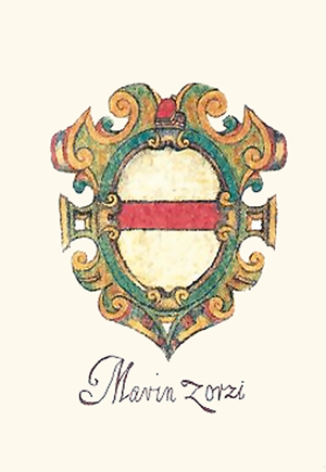 Marino Zorzi - Coat-of-arms of Marino Zorzi