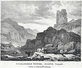 Dolbaddern Tower, north Wales