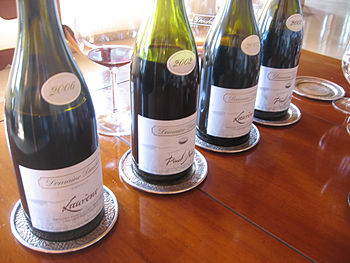 Assortment of wines from Oregon producer Domai...
