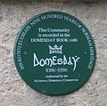 Domesday plaque.JPG