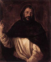 Tiziano, San Domenico di Guzmán, 1565 ca.