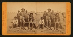 Donald McKy (McKay), the celebrated Warm Spring Indian Scout and his chief men (NYPL b11708169-G91F396 014F).tiff