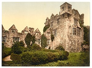 Donegal Castle - Donegal Castle, circa 1900 Library of Congress collection
