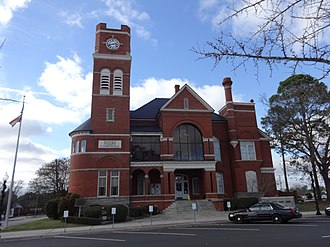Dooly County, Georgia - Image: Dooly County Courthouse (East face)