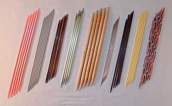 Knitting Needle Sizes Chart Uk : Knitting needle wikipedia