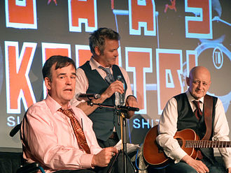 Doug Anthony All Stars - DAAS performing in 2014 with Paul Livingston replacing Richard Fidler