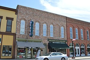 National Register of Historic Places listings in Logan County, Illinois - Image: Downey Building, Atlanta