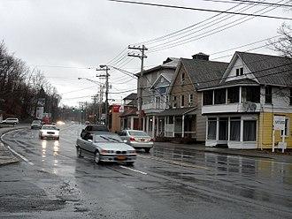 Sloatsburg, New York - Route 17 in Sloatsburg