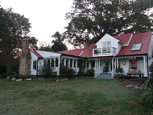 Bynum, North Carolina - The Dr. E. H. Ward Farm in Bynum is listed on the National Register of Historic Places