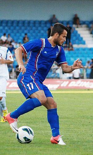 FK Jagodina - Dragan Stojkov while playing for FK Jagodina.