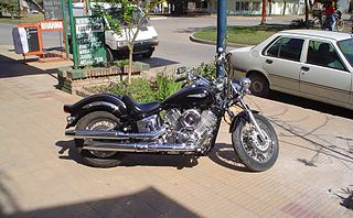 Yamaha DragStar 1100 motorcycle