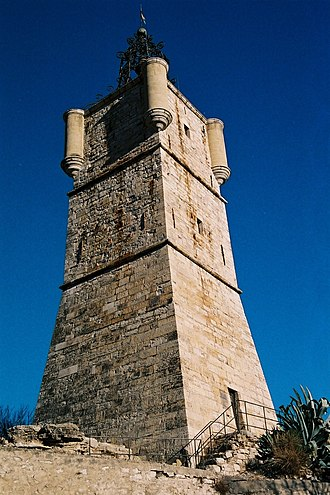 Draguignan - Clock tower of Draguignan.